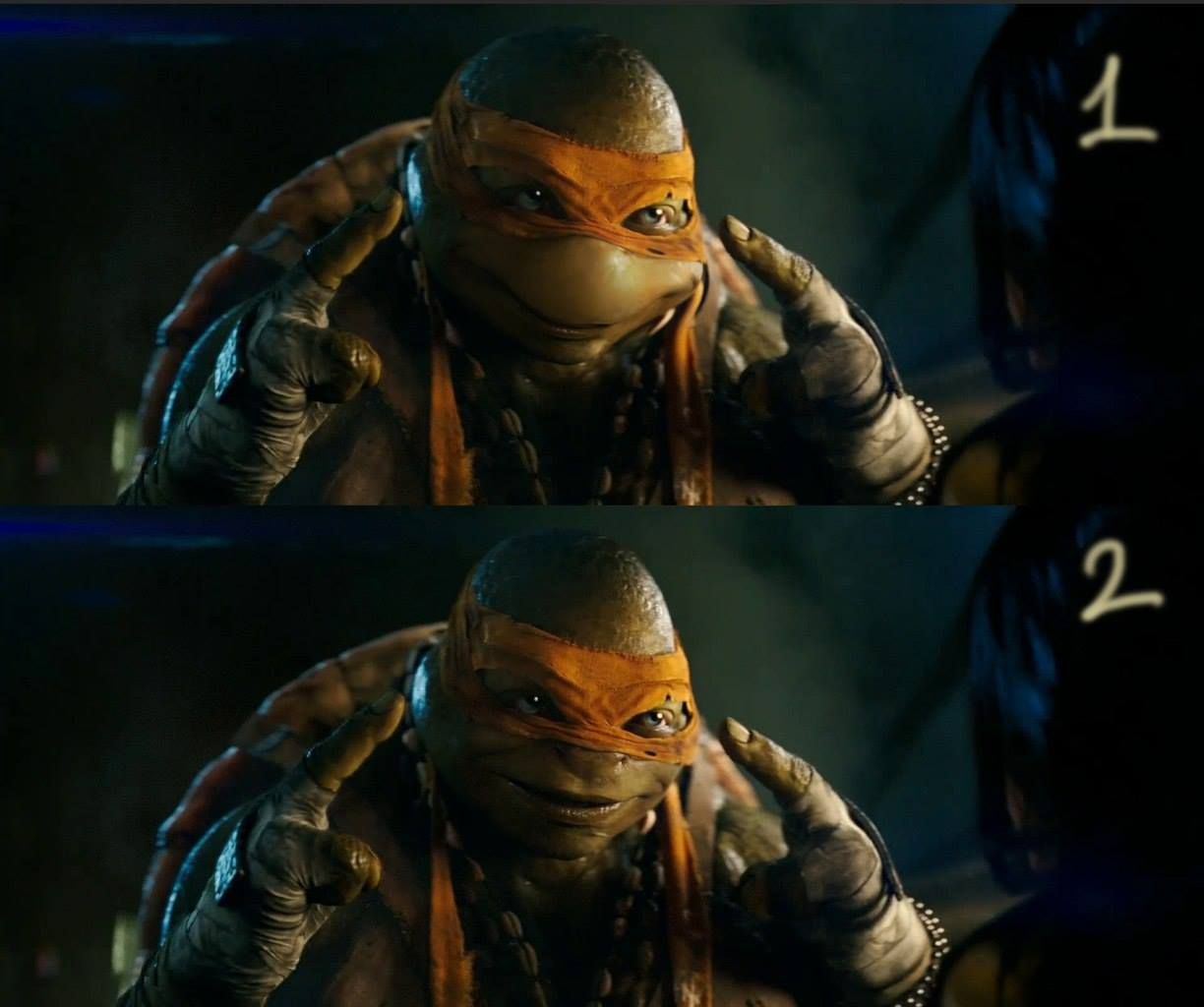 1 Michelangelo  A Super Fan Edits Updated Turtles in Teenage Mutant Ninja Turtles Trailer