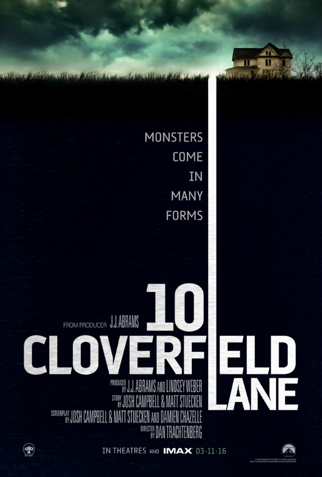 Image result for 10 cloverfield lane poster