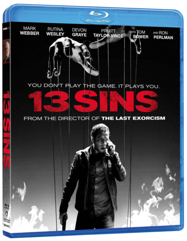13 sins blu ray artwork.jpg Exclusive: 13 Sins Gets A New Clip