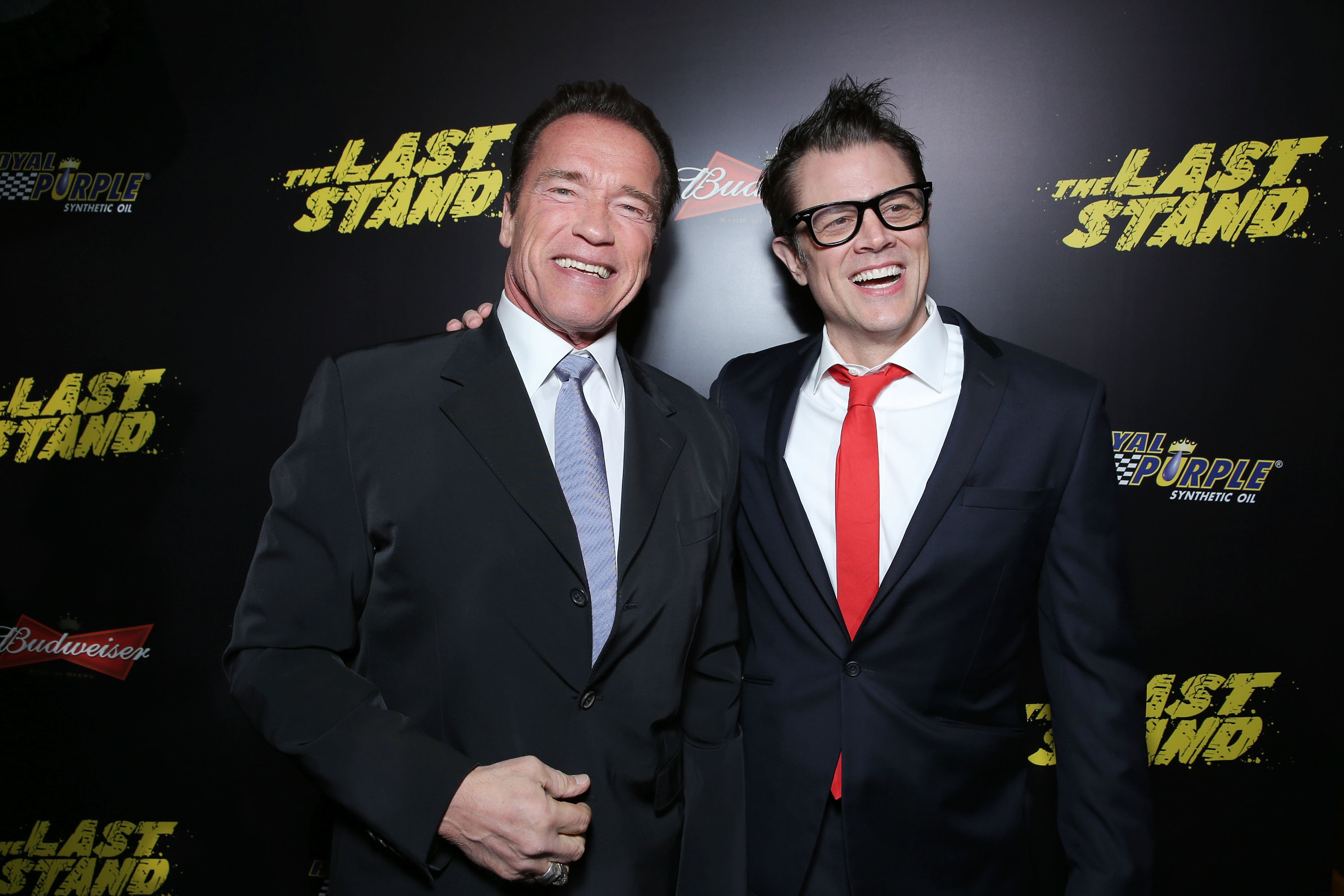 159638640EC091 The World Pr Arnold Schwarzenegger Takes The Last Stand at Films World Premiere