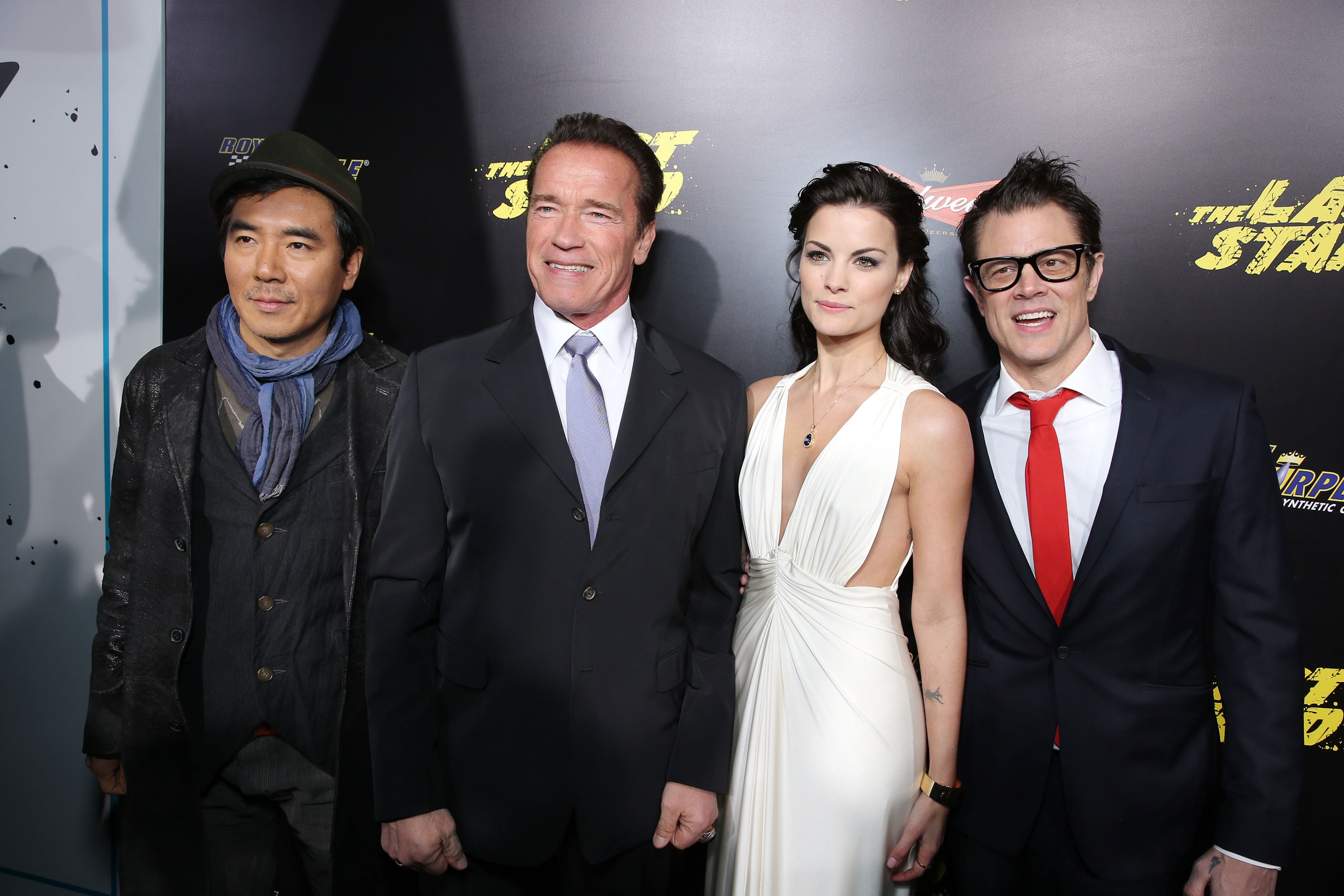 159638640EC139 The World Pr Arnold Schwarzenegger Takes The Last Stand at Films World Premiere