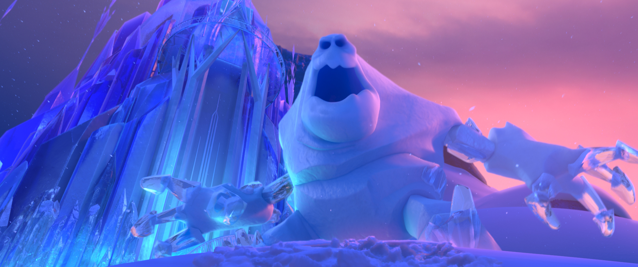 Marshmallow in Disney's Animated Adventure, Frozen