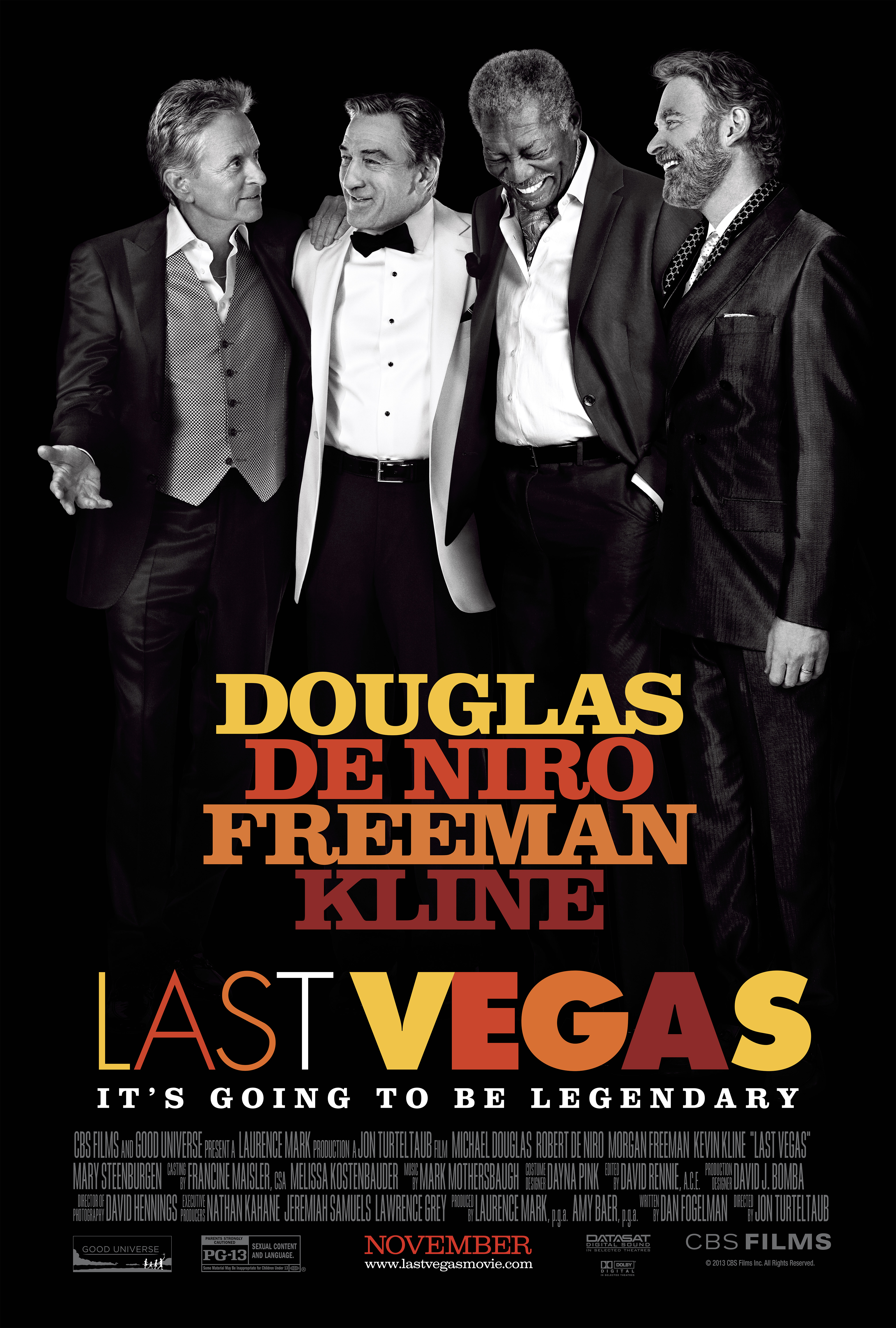 248158id1f lastvegas 1sht1 Last Vegas Features the Best Bachelor Party with Official Clips