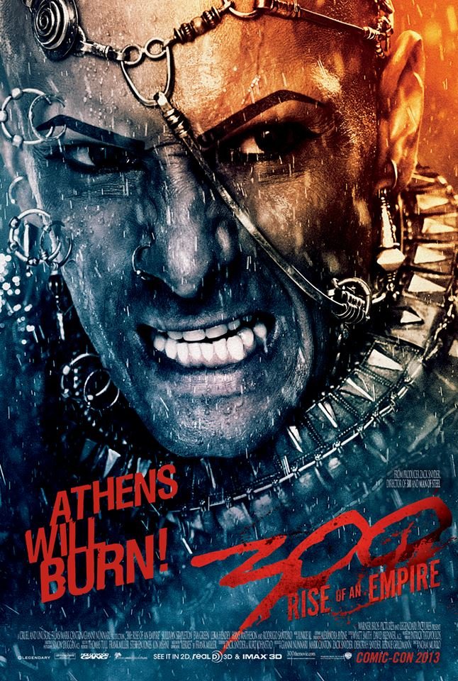 300 Rise of an Empire Xerxes New Trailer for 300: Rise of an Empire Dives Back into Frank Millers Stylistic World