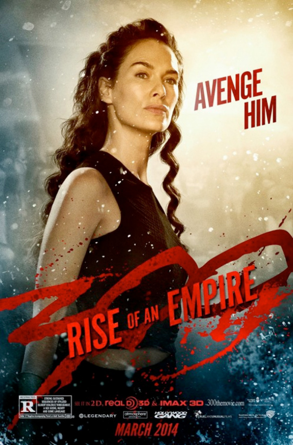 300 rise of an empire lena heady 300: Rise Of An Empire Gets A New Character Poster