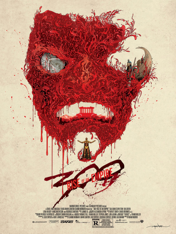 300 rise of an empire mondo poster 300: Rise Of An Empire Gets An Awesome Poster From Mondo