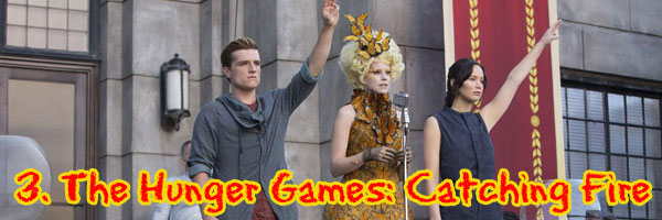 3 Catching Fire Perri's Top Ten Movies of 2013