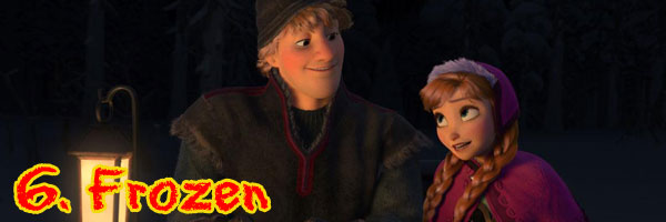 6 Frozen Perri's Top Ten Movies of 2013