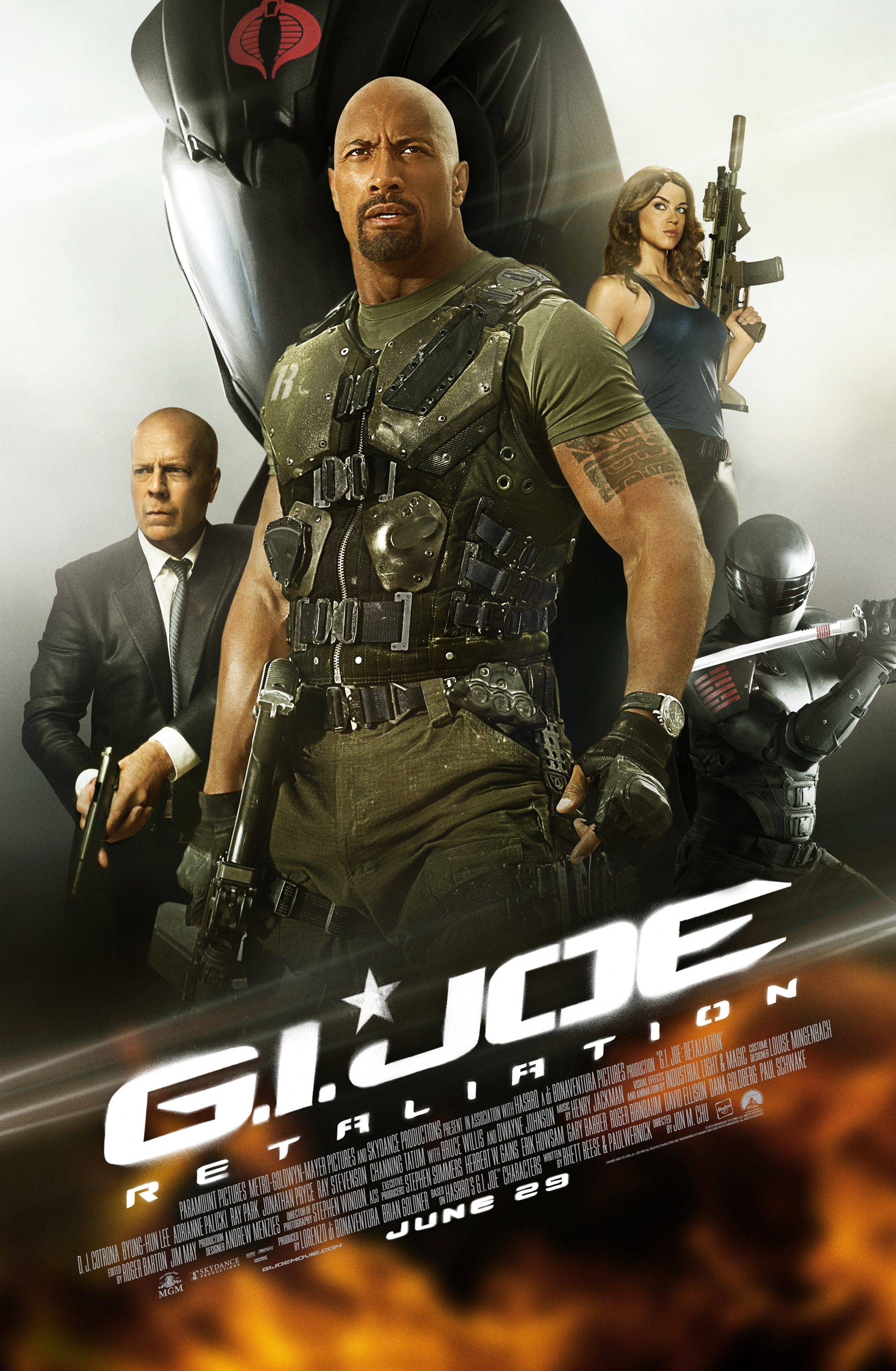 Four New Videos From G.I. Joe: Retaliation Show Tons Of Action ...