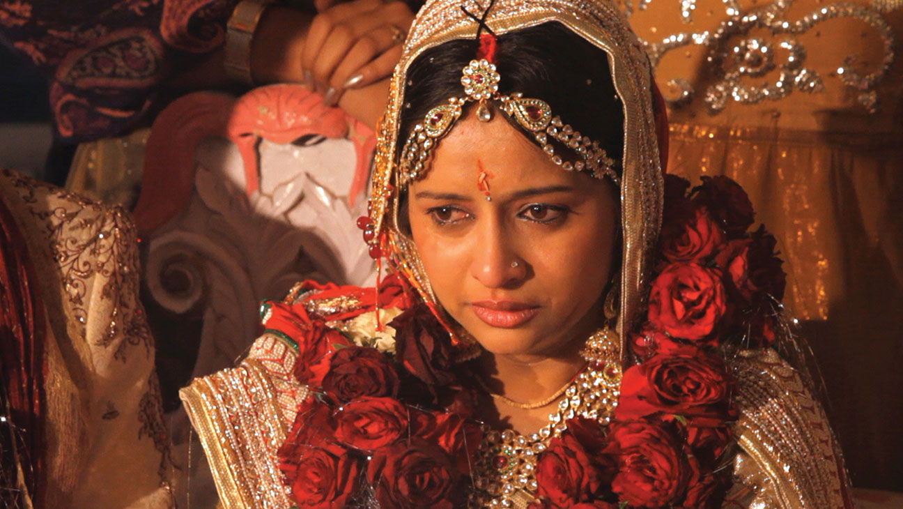 Amrita Son on her wedding day in A SUITABLE GIRL