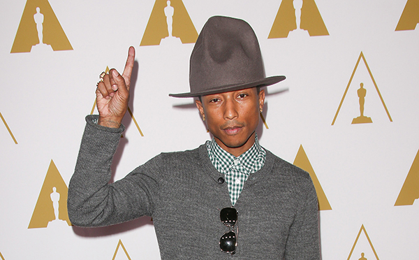 AES 125454 Pharrell Williams dedicates upcoming album to girls