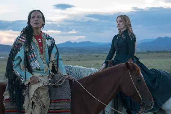 AFM First-Look Image Features Jessica Chastain in Title Role of Woman Walks Ahead