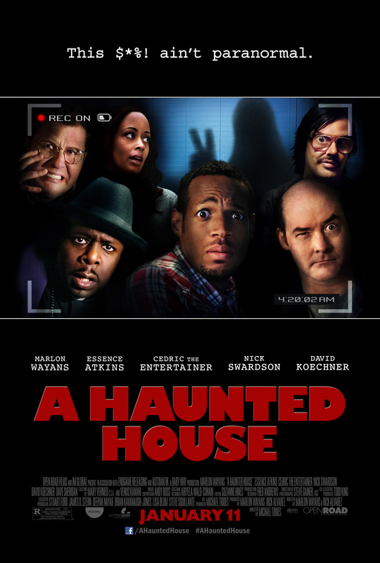 AHauntedHouse Interview: Marlon Wayans has fun building A Haunted House