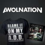 AWOL merch 150x150 Exclusive: AWOLNATION And Red Bull Records Debut AWOL NATION Project Site