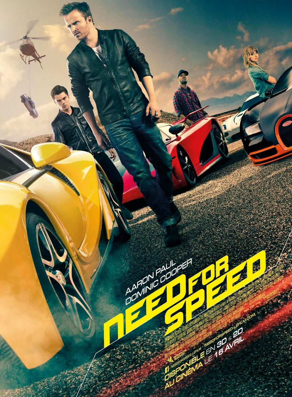 Aaron Paul Has a Need For Speed In Films Home Release Clips Aaron Paul Has a Need For Speed In Film Clips