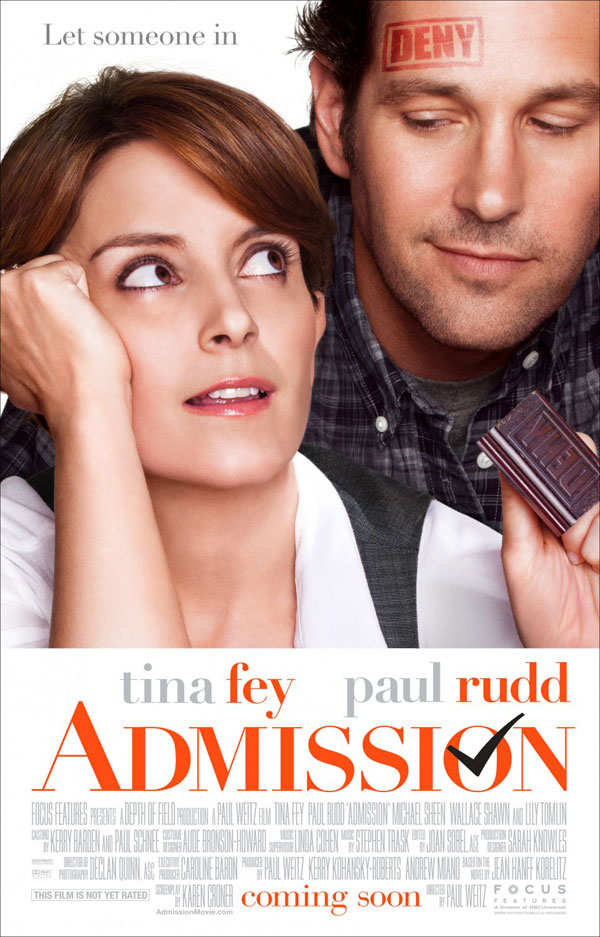 Admission Poster1 Admission Movie Review