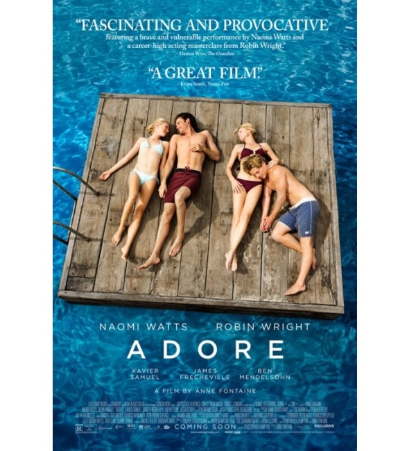 Adore poster 600px Adore Now in Theaters and On Demand