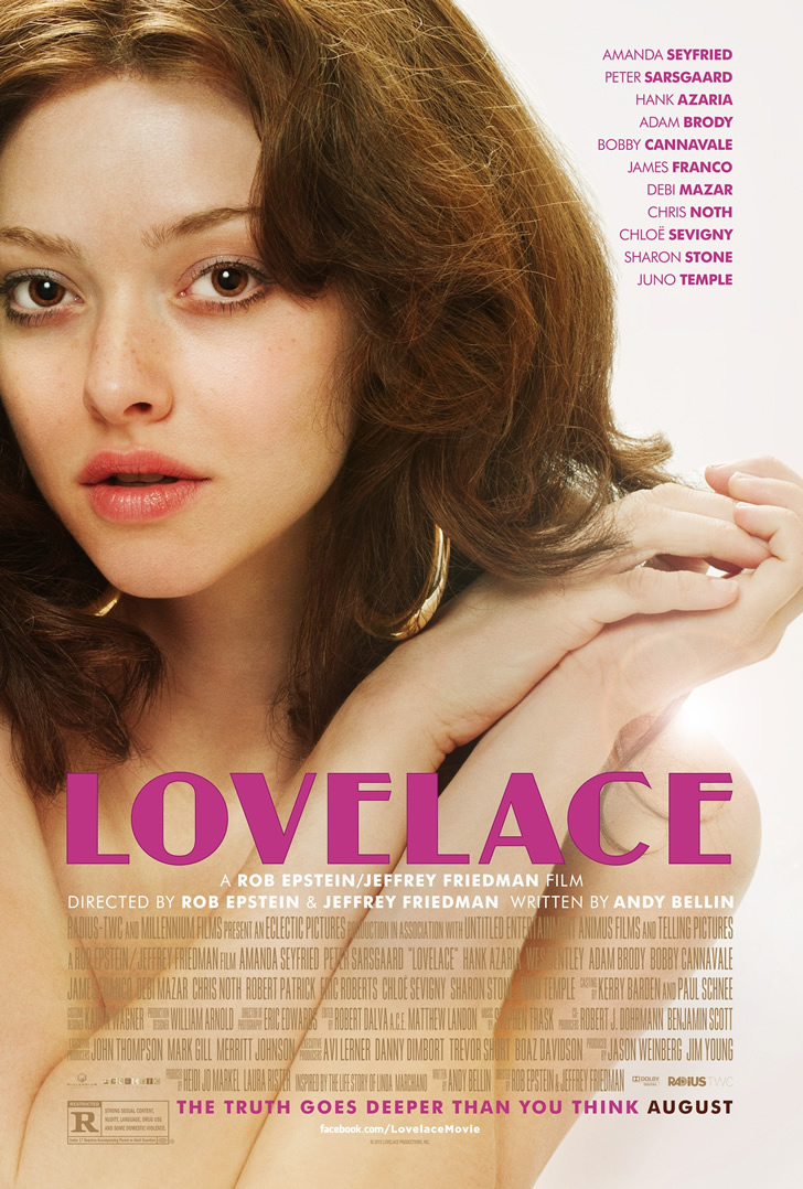 Amanda Seyfried Poses Linda Lovelace in Official One Sheet Amanda Seyfried Poses as Linda Lovelace in Official One Sheet