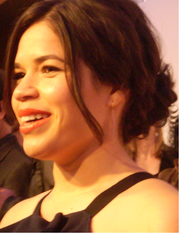 America Ferrera XY Red Carpet The Cast and Crew Hit the X/Y Red Carpet at the Tribeca Film Festival