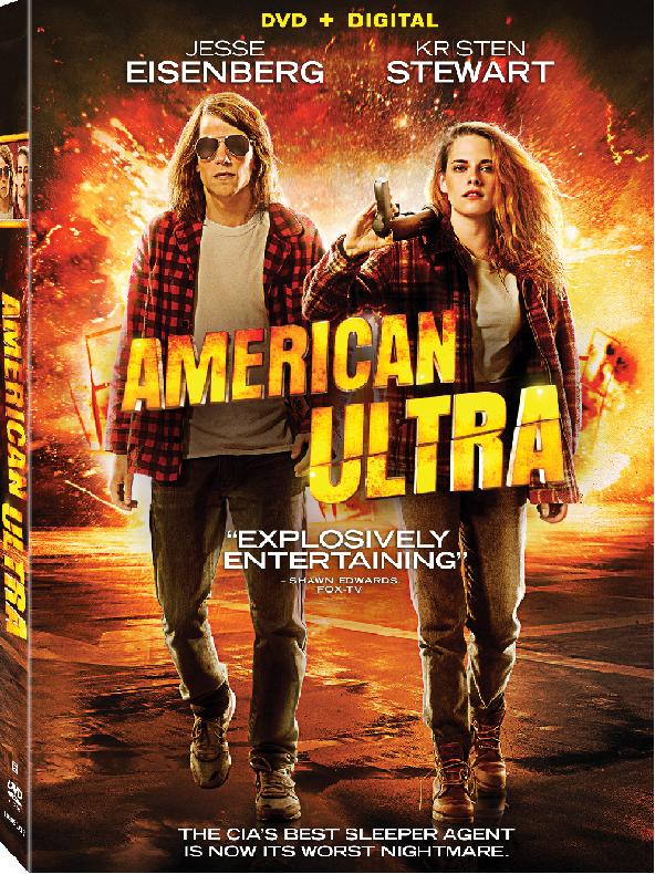 American Ultra DVD Box Art