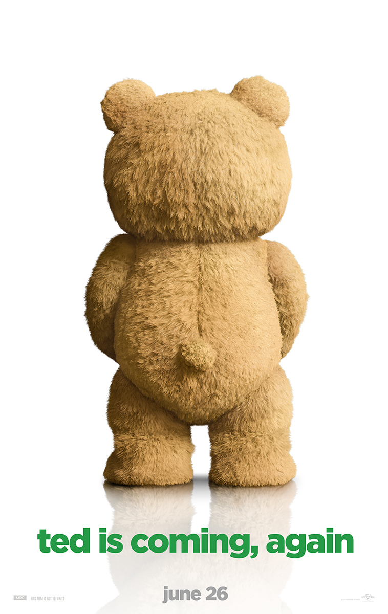 America's Favorite Teddy Bear is Back in Ted 2's New One Sheet Poster
