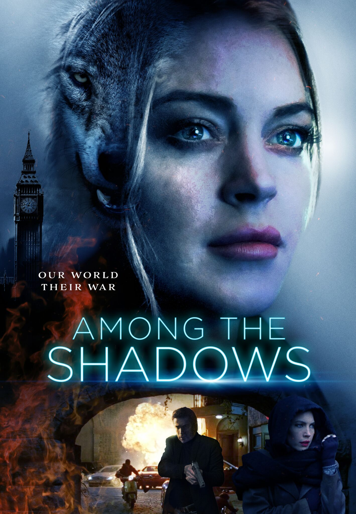 Among the Shadows Movie Poster'