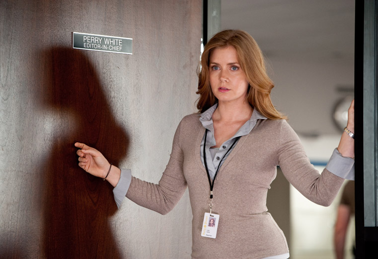 Amy Adams in Man of Steel as Lois Lane