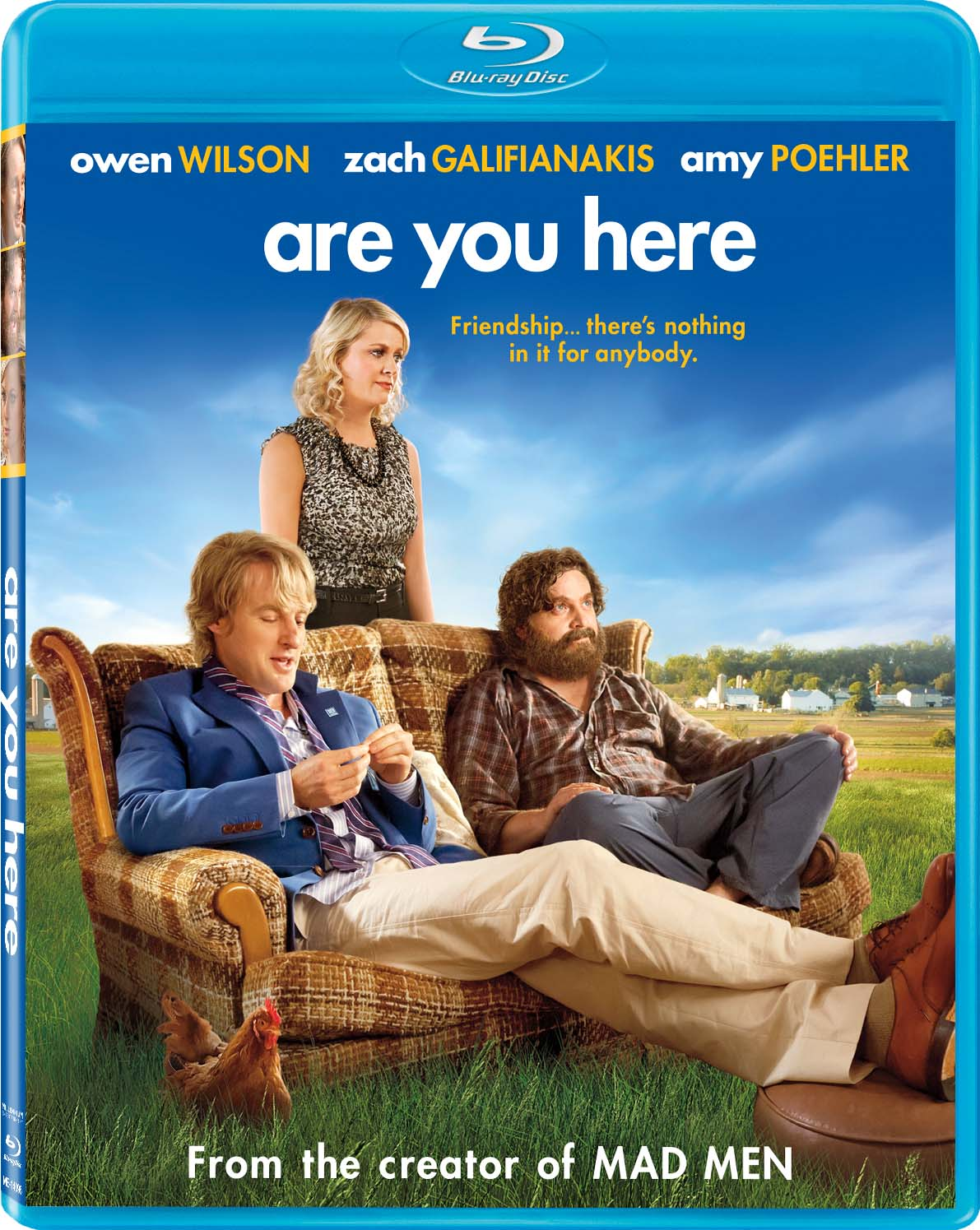 Amy Poehler's Are You Here to be Released on DVD and Blu-ray