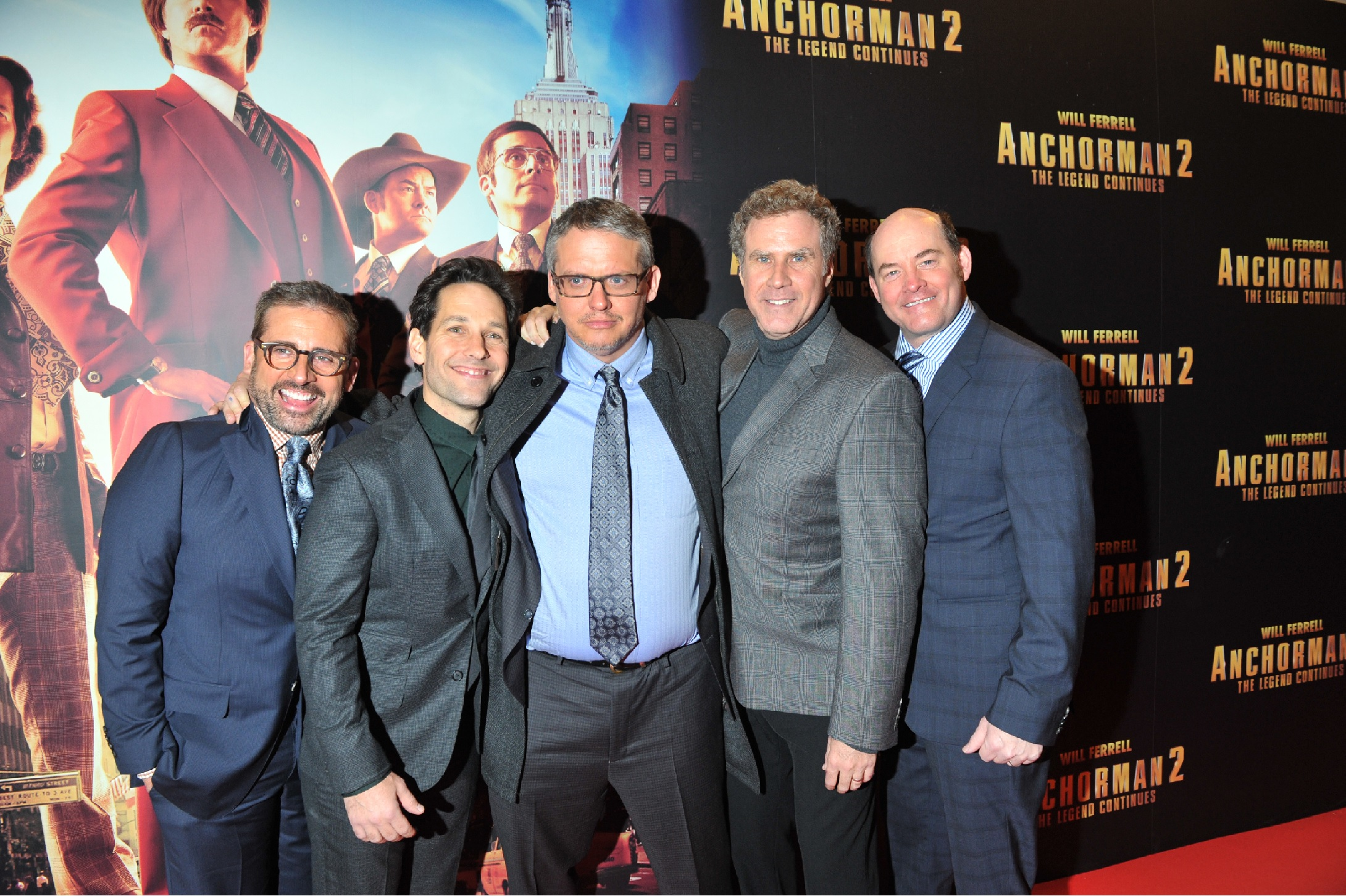 Anchorman 2 Dublin 11 Dublin Premiere Photos of Anchorman 2: The Legend Continues Released