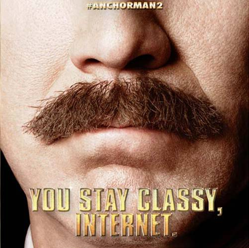 Anchorman 2 The Legend Continues Making History with Updated Website Anchorman 2: The Legend Continues Making History with Updated Website