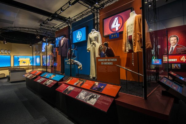 Anchorman 2: The Legend Continues with Exhibit at Newseum