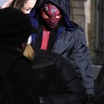 Andrew Garfield in The Amazing Spider Man 2 150x150 Emma Stone and Andrew Garfield on The Amazing Spider Man 2 Set Video and Stills