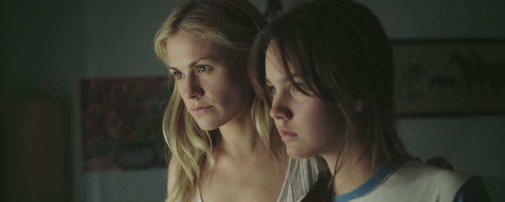 "Anna Paquin and Liana Liberato in an exclusive clip from ""Free Ride."""