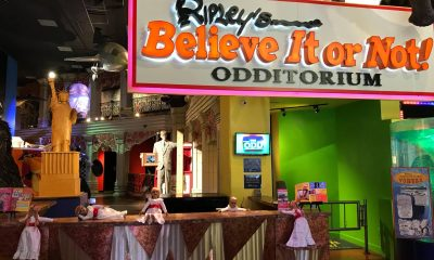 Annabelle Doll in Ripley's Believe It or Not Odditorium