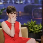 Anne Hathaway Stuns in Sylva Cie on The Tonight Show with Jay Leno 150x150 Anne Hathaway Graces Kennedy Center Honors Red Carpet in Casadei Heels