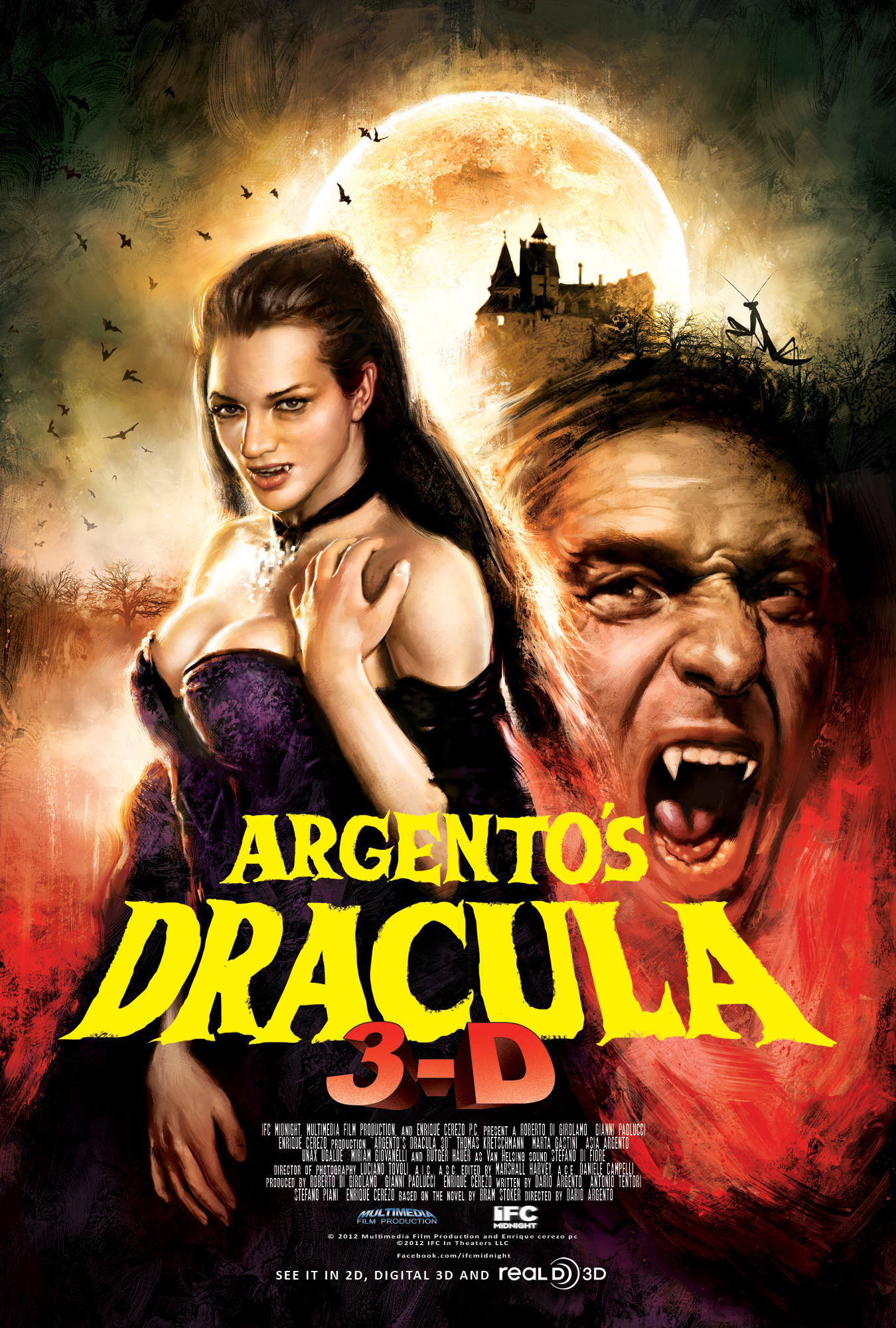 Argentos Dracula 3D poster revised 9 9 2013 02000px Check Out Trailer and Poster for Argentos Dracula 3D
