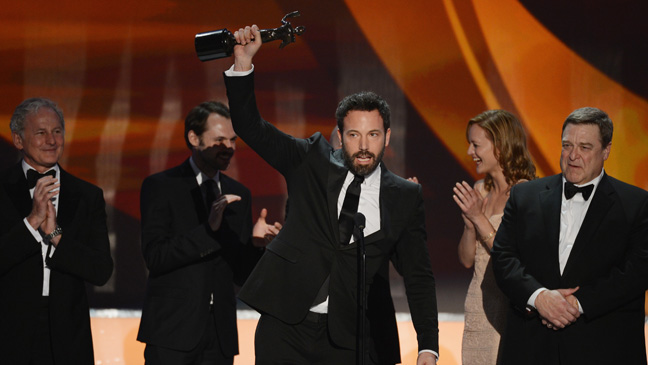 Argo and 30 Rock Big Winners at SAG Awards 2013