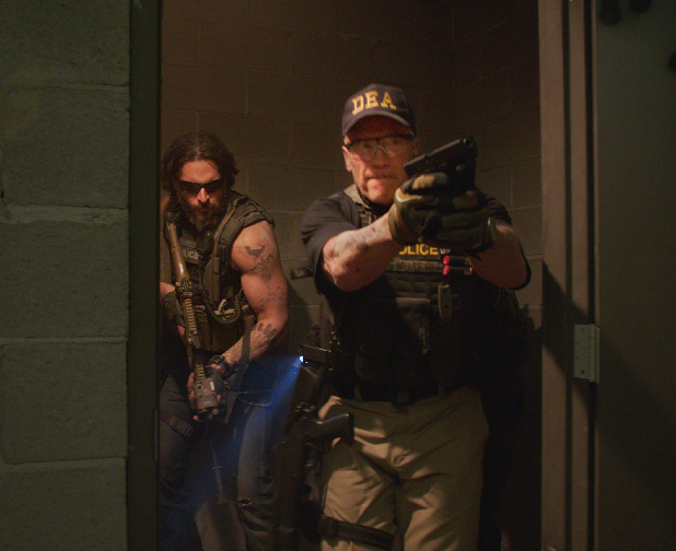 Arnold Schwarzenegger and His Team Face the Heat In New Sabotage Clip
