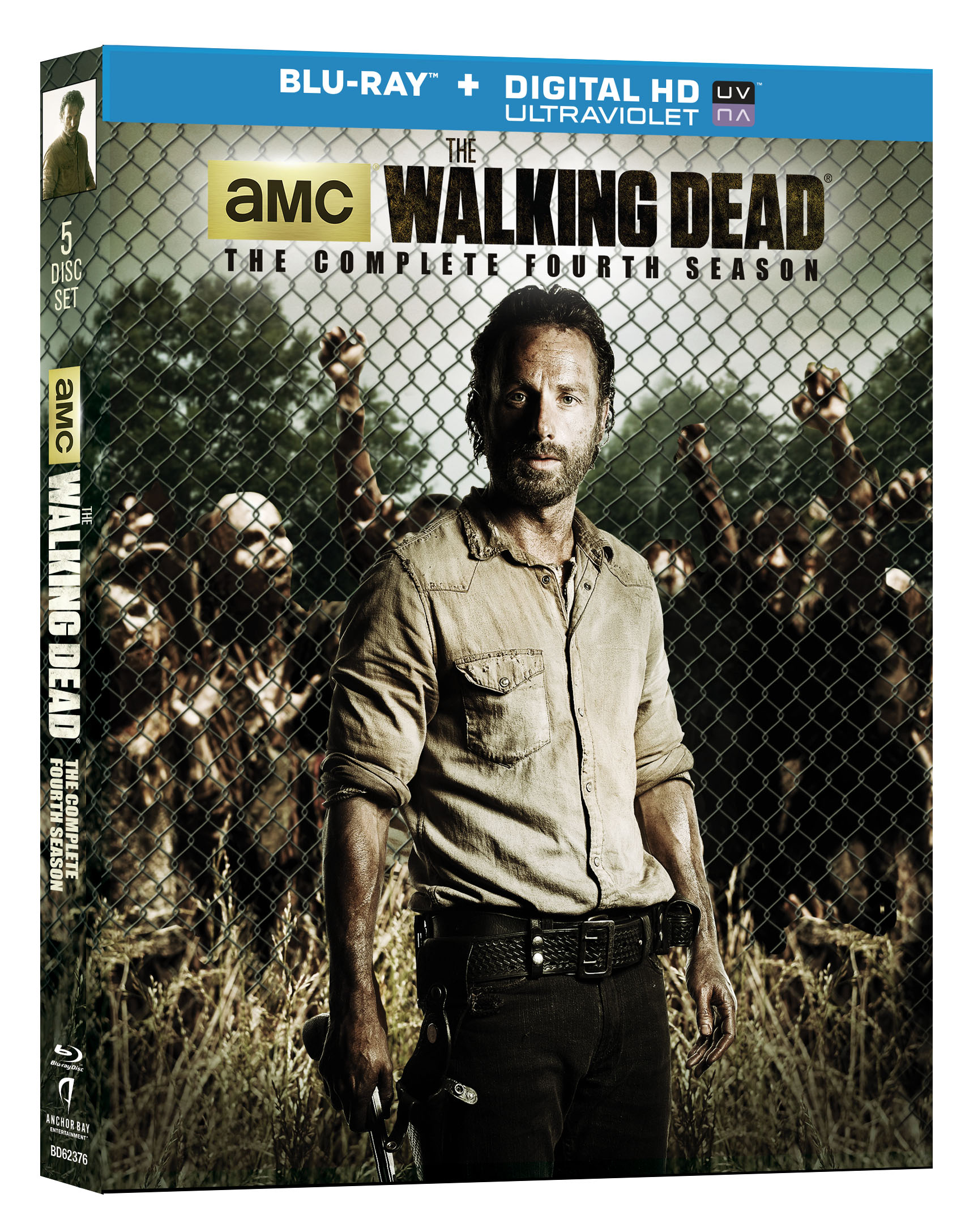 BD62376ORN walking dead s4uv 3d BEST BUY The Walking Dead: The Complete Fourth Season Coming to DVD and Blu ray August 26