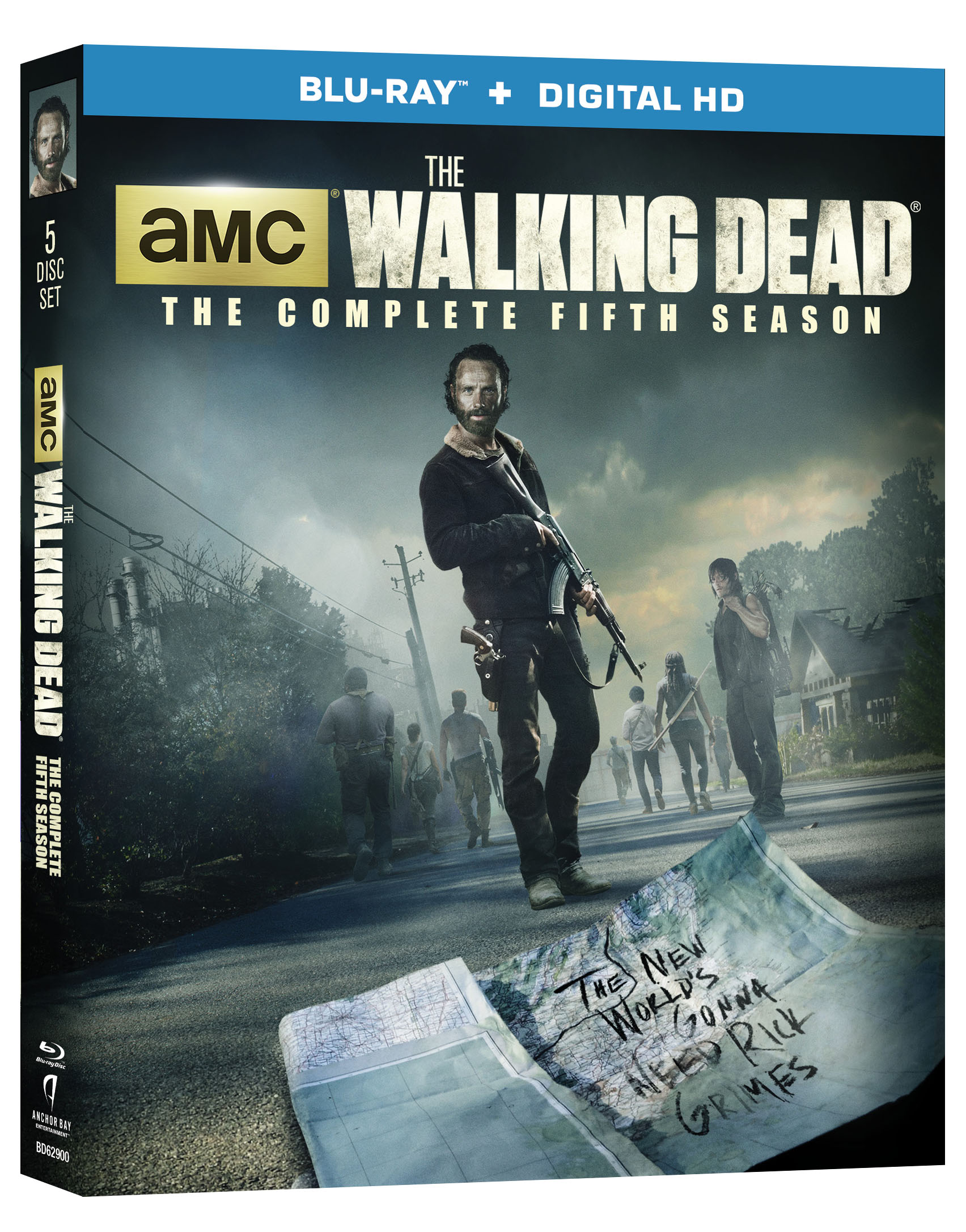 Walking Dead Complete Fifth Season