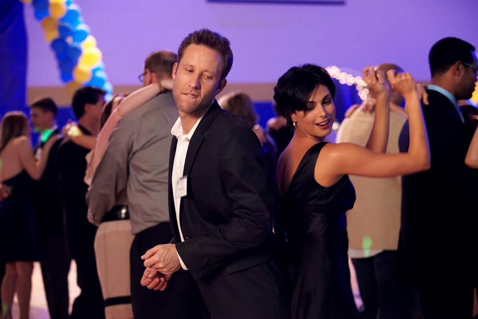 Back in the Day Michael Rosenbaum and Morena Baccarin