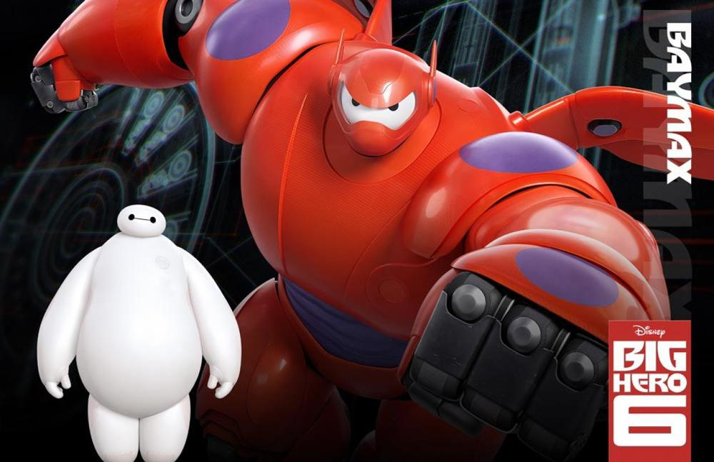 Baymax Big Hero 6 Character Pose