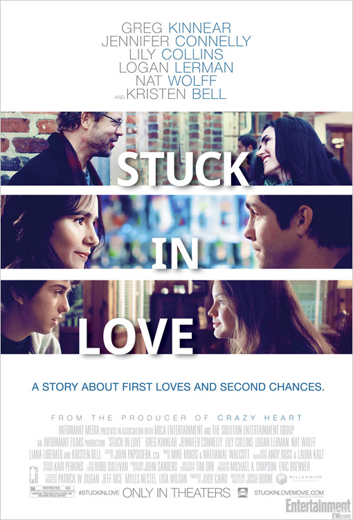 Become Stuck in Love with New Official Film Poster Become Stuck in Love with New Official Film Poster