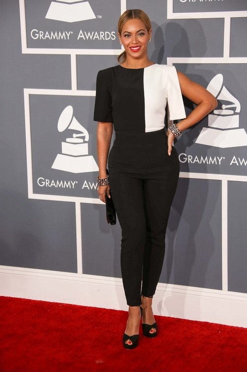 Beyonce in Osman The Grammy Dress Code: Were The Fashions Too Safe?