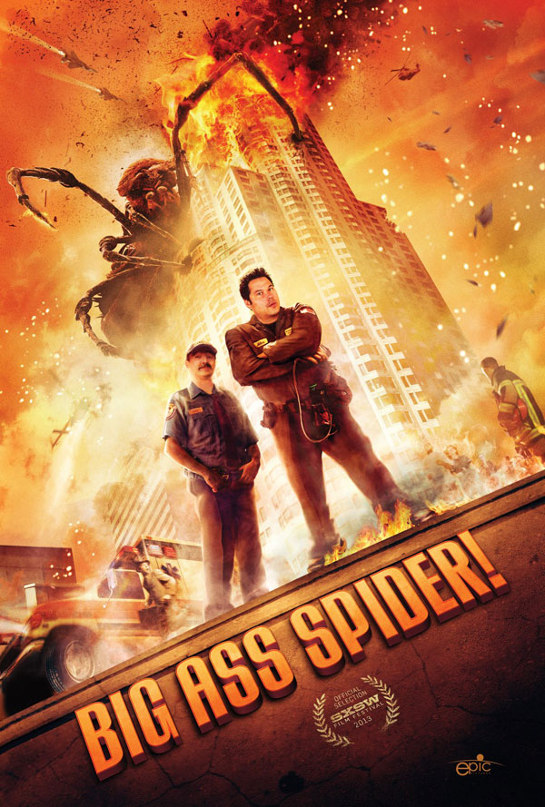 Big Ass Spider Poster1 Big Ass Spider Movie Review