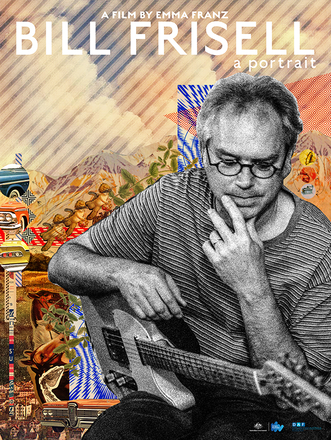 Poster from documentary Bill Frisell: A Portrait