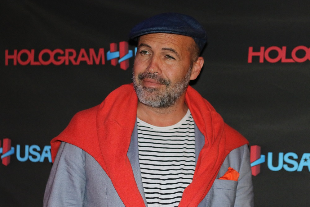Billy Zane on the Hologram USA Theater red carpet