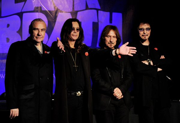 BlackSabbath Black Sabbath Release In Studio Video