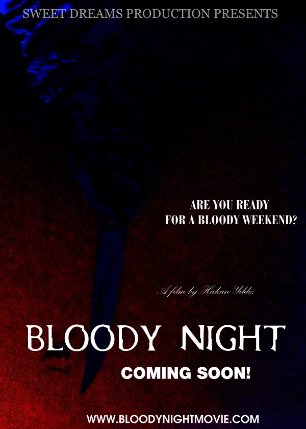 Bloody Night Official Poster Get Ready For a Bloody Night with New Set Photos