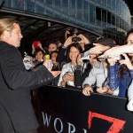 Brad Pitt Engages Crowd at World War Z Sydney Premiere 150x150 Set Photos Leak of Brad Pitt on World War Z